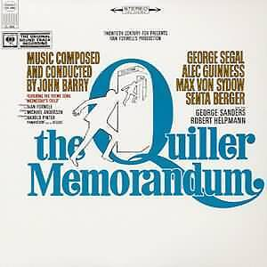 JOHN BARRY The Quiller Memorandum OST LP SEALED Spy