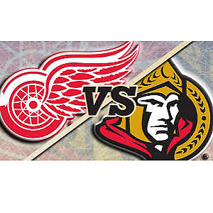 Sens Vs Red wings tickets
