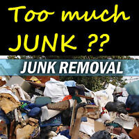 Junk remove building clean outs flat rates