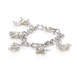 Tiffany Silver Charm Bracelets