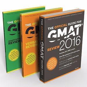 GMAT 2016 Official Guide Bundle