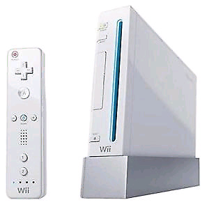 Nintendo Wii for $150 with 10 games