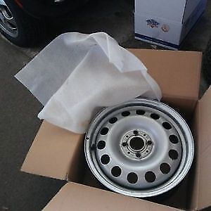 """Best offer  4 x 15"""" OEM winter rims from a MINI Cooper"""