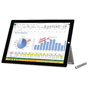 NEW Microsoft Surface 3 Pro Tablet Core i5 3rd GEN 128GB SSD