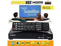openbox v8s digital satellite fully loaded