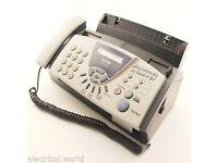 Brother T104 Fax machine & 4 x refill rolls