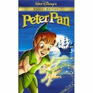BRAND NEW Peter Pan Special Edition VHS - in plastic!