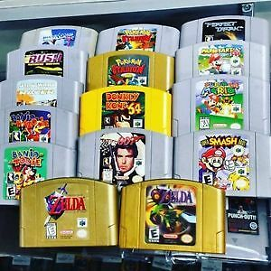 N64 Console, Controllers and All the Best Games. Prices are Firm