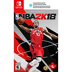 NBA 2K 18 SEALED BRAND NEW NINTENDO SWITCH