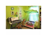 IKEA Lova Green Leaf Childrens Bed