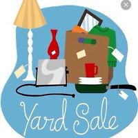 Yard sale on Saturday September 5th London Ontario