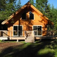 Tamlin Homes Heavy Timber Cabin Special!