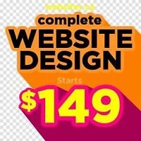 Website design and development. High quality cost effective!!!