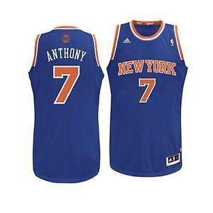 639fe181c23 ... Carmelo Anthony Knicks Swingman Jersey New York Knicks 7 Carmelo Anthony  Christmas Day Big Color Fashion ...