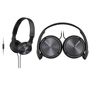 Sony MDR-ZX300IP/B Headphones with Microphone for iPod/iPhone/iP