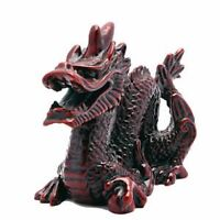 Chinese Oriental Lucky Feng Shui RED Lucky Dragon