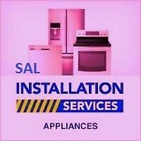 Appliance and Dishwasher installation