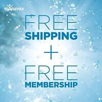 Isagenix - FREE SHIPPING AND MEMBERSHIP until July 1!