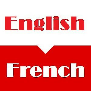French for English
