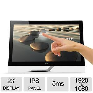 """ACER 23"""" Touchscreen Monitor - Perfect for Microsoft Surface!"""