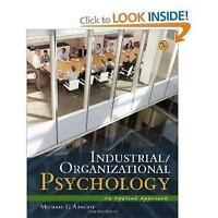 Industrial/Organization Psychology by Michael G. Aamoodt