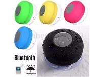 Bluetooth speaker for the shower (water resistant )(receive calls!)