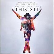 Michael Jackson This Is It CD