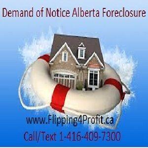 Crash Course Alberta Foreclosures for investors