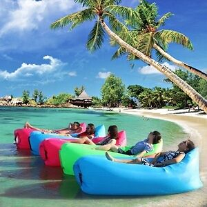 Inflatable AIR BEDS no pump required Brand New