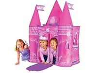 Princess Pop up play tent for kids -Excellent condition for sale