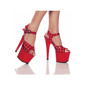 Lucious Platform Stiletto Dancer Shoes Size 9 but fit 8