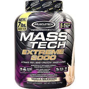 Muscletech Mass Tech Extreme 2000 - Performance Series Vanil