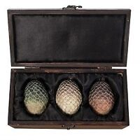 Game Of Thrones Dragon Egg Set - Licensed Collectible