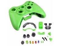 green xbox 360 controller shells 3 for £5