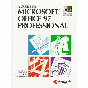 Book for sale: A Guide to Microsoft Office 97 Professional