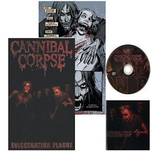 "Cannibal Corpse Limited Edition cd/comic""Tour Edition""'New and.."