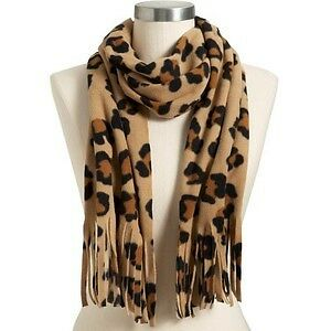 Women's Old Navy fleece animal print scarf Brand new with tags London Ontario image 1