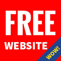 Free website, just pay the hosting; We're building our portfolio