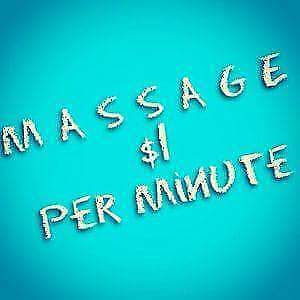 ★Morning MASSAGE ONLY $1/Minute★ Edmonton Edmonton Area image 1