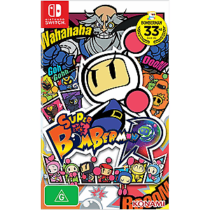 nintendo switch game- Super Bomberman R