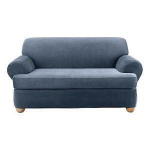 2 Piece T Cushion Sofa Slipcovers