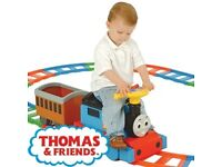 Thomas ride on train £65 as new condition