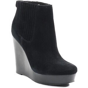 MICHAEL KORS - Suede Wedge Ankle Boot (7).