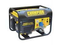 BRAND NEW Champion CPG3500 2.8kVA Portable 15L Petrol Generator 4 Stroke