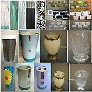 CLEAROUT -SHOWER  CURTAINS FOR  $ 5 ONLY  CURTAIN HOOKS$2.50 ETC