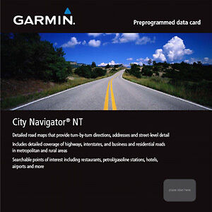 Garmin Cityview MAPS all Europe 4G card