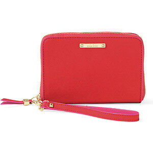 NEW IN BOX Stella & Dot Chelsea Tech Wallet, Poppy colour