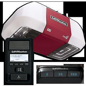 Liftmaster & Chamberlain Garage Door Openers Belt and Chain Drives
