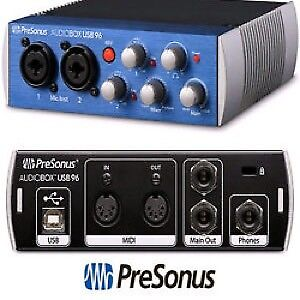 Presonus 2x2 audiobox USB interface