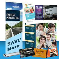 Business card, Postcard, Flyer, Brochure and More...